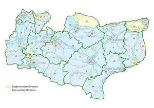 Kent Summary Map